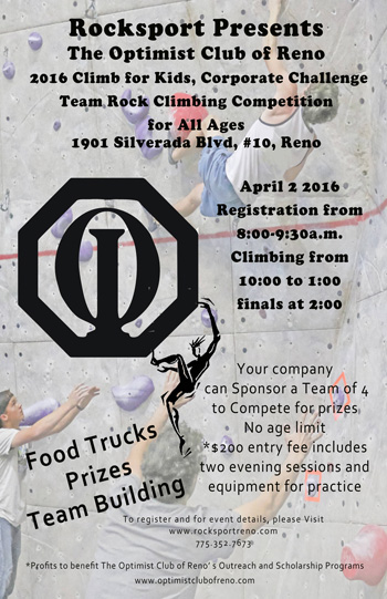 2016 Climb for Kids, Corporate Challenge