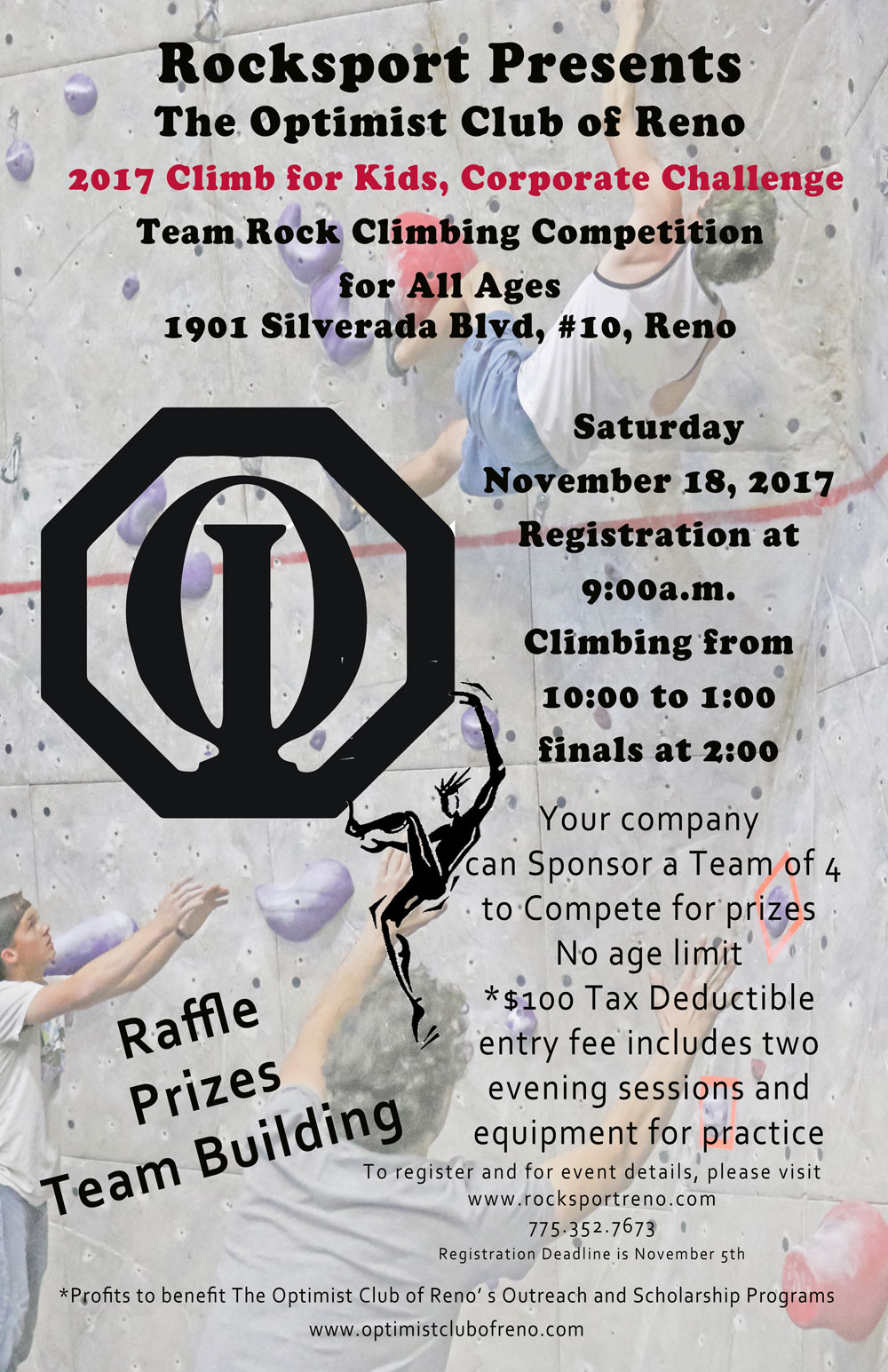2017 Climb for Kids, Corporate Challenge
