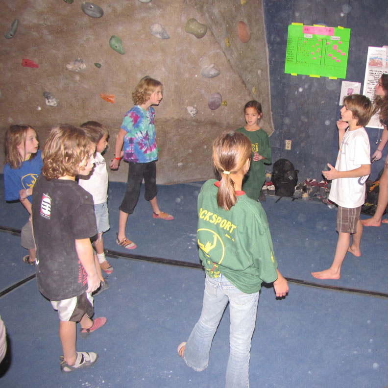 Summer Climbing Camp at RockSport