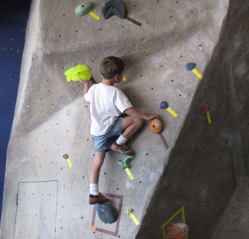 Kids Climbing Camp at RockSport